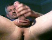 Video wanking my cock and letting the cum flow down my fingers as i keep stroking