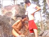 Discovering their sexuality in their youth while on a wilderness retreat.