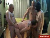 Gay gay gangbanged