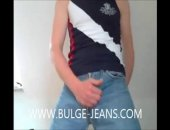 SUPER HUNG BULGE JEANS