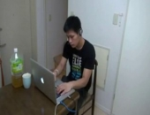 Muscular Japanese boyz Kenta and Koki meet on Webcam and then fuck each others asses HARD. Check out Kokis big, uncut cock as he plows Kentas tight and tasty asshole