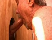 This sexy mature daddy loves sucking cock so he puts in lots of hours at the local gloryhole and didnt mind that we did a quick film session. He said hed be interested in meeting up sometime in the future
