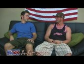 Civilian Devin and Lifeguard Mark meet again this week on All-American Heroes ready for some more man on man action. Smooth, muscular Devin got his...