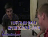 Ezra and Josh decided it would be fun to play a game of Truth or Dare in the basement of the Frathouse. It started off innocently enough, with...
