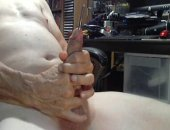 Watch this older gay daddy shove a wide metal rod down his own shaft. Scraping the insides of his cock and stroking at the same time, hes clearly horny and eager to spurt his hot and nasty cum!