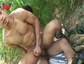 Pounding ass outdoors, waiting to see if anyone will stumble on their fuckfest, these asian boys couldnt help but follow the desires of their horny cocks