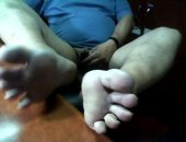 Feet Masturbation