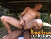 two of the horniest latino cock stars fuck bareback outdoors in this video, get loads more big cock latino stars at LatinoCockStars