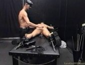 Things have slowed down a bit in the dungeon. Still nobody could say they have become less perverse! Just as the anally exploited slaveboy is...