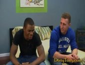 Today Ive got two musclebound hunks ready to fuck each others brains out. Super hot and dark-skinned Sean Mason is a football star from Texas...