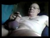 wank an old man cock