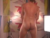 I had a str8t blonde with muscles and model looks to jack off. It was his first time on camera. He gets into the dirty talk as I push him along. He shoots a big load on a plastic stool which I lap up when he