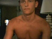 Hot straight dude jerks himself off and cums all over his chest and crotch