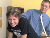 Blowing his student instructor