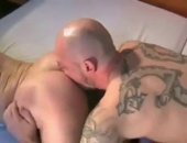 Hartmann shows Erik Hall what raunchy is all about