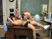 Dayn Murphy just arrived in town and Aidan Chase is the first to greet him at school. Theyre in biology class and Aidan pretends to be the teacher to give Dayn a lesson in the sexual organs. Those are an important part of human biology, after all. The study starts with Aidan giving Dayn a lusty blowjob to get him hard and then Dayn returns the favor. Today Aidan is a top and hes going to give his new friend the fucking of a lifetime. They try all three standard positions and start with an author