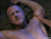 Opposites attract in this army hook up between Sami & Paul