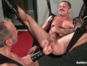 mature leather men get down and dirty