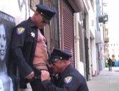 burly cops and construction men