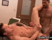 power fucking hunks at the office