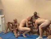 wrestlers orgy