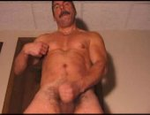 Hot Matere Guy Jerking Off His COck.