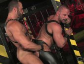 Horny Leather Jocks Having a nice anal hardcore fuck.