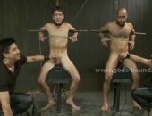 Hot Tied Humiliated Guys Got Jerked and Fucked.