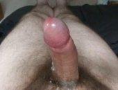Amateur Guy Jerking Off His Cock Cums Hard.