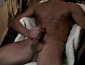 Amateur Guy Jerking Off his COck.