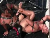 Horny Leather Guys Having a nice anal fuck.