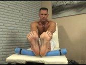 Hot Guy Showing his Beautiful Feet.