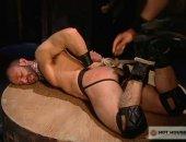 Hot Jock Got Tied Up.