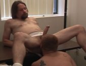Horny Guys Fucking at the Office.