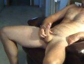 Amateur Guy Jerking Off His Cock.