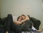 Cam show of teen couple