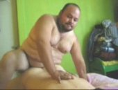 big chubby man fucking his lover in the ass.
