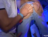 Twinks doing anal at the night club
