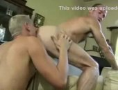 Old queer couple licking ass and sucking cock.