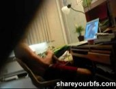 A voyeur video of his ex smashing to porn on the internet.