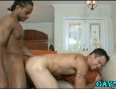 punishing some gay ass with his big dick