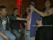 Gay night club gets filled with extreme gang bang lovers that take advantage of wild kinky slave sex in total party