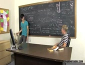making use of an empty classrom