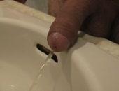 jerking into the hotel bathroom