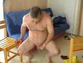 pissing at home