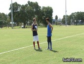 Michael Dora is dying to become a better soccer player, so he approached friend Tyler Andrews for some pointers. Tyler notices real quickly that all Michael needs is a few new techniques on how to really handle the ball. What better way to learn about ball control while having a little sexy fun.