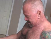 Sexy American Bears - older dudes who think their still 25 go at it