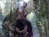 Gun Shots & Shooting Loads - outdoor blowjob fun in the forest for these boys