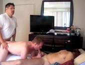 Real Amateur Homemade Flick - 3 amateur men fucking in a room, and 1 wearing a mask