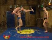 WrestleHard - Muscle Teens Wrestle & Fuck
